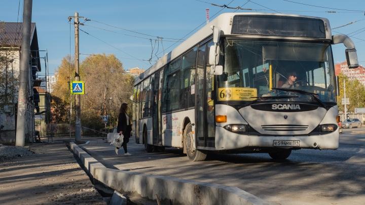 В Перми на улицу Крупской вернулся общественный транспорт