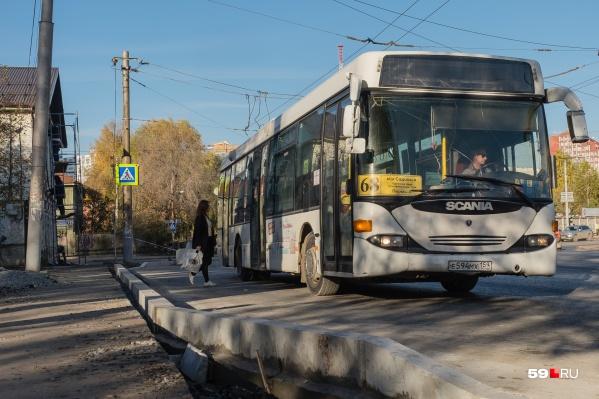 На линию вернулись автобусы № 18, 30 и 68, а также трамвай № 7