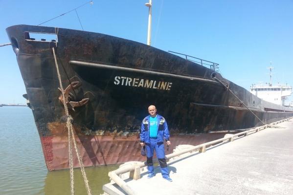 Капитан судна Бахман Багиров вернулся в Ростов два месяца назад