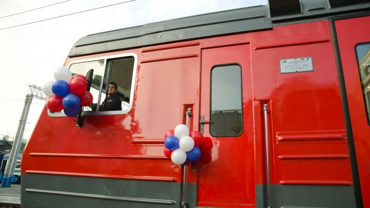 Власти назвали районы Новосибирска, куда запустят городскую электричку