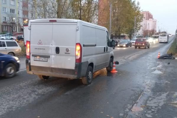 По информации ГИБДД, водитель не успел среагировать и сбил пешехода
