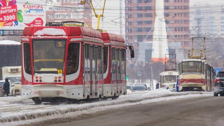 В Самаре продлили трамвайный маршрут № 5