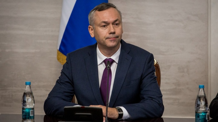 Новосибирские чиновники встретили нового губернаторааплодисментами