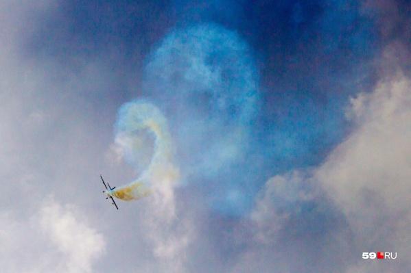 Зрители смогут вновь наблюдать за виртуозным исполнением полетов в Лысьве уже в следующем году