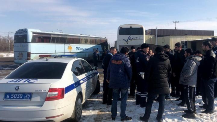 Мы вас предупреждали: в Волгоградской области полицейские отправили на штрафстоянку неисправный автобус