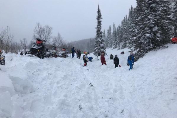 Ранее лавиной накрыло горнолыжный курорт «Приисковый»