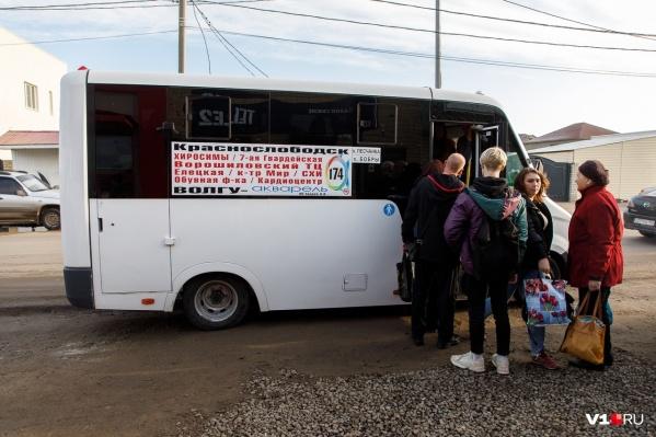Жители Краснослободска уже не раз жаловались на давку в маршрутках