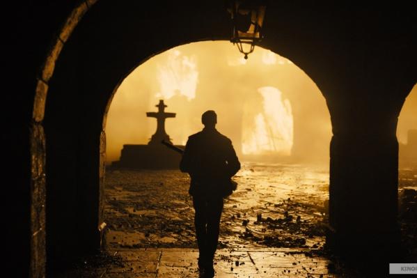 Съёмки в разрушенном городе потрясают своей контрастностью