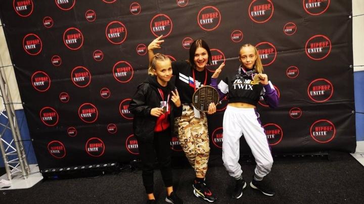 Курганский дуэт Twix стал двукратным чемпионом первенства мира по фитнес-аэробике