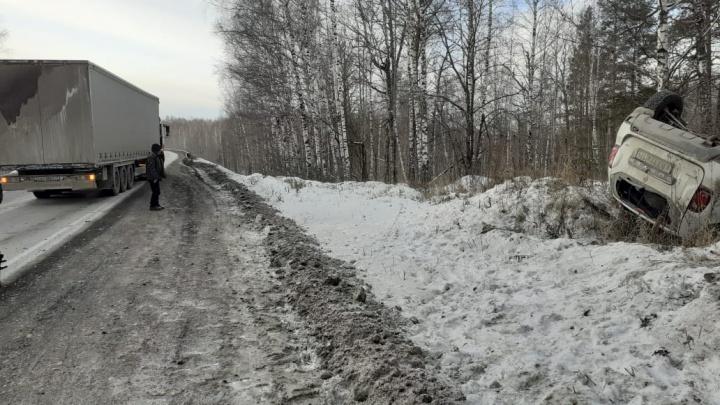 На трассе М-5 в Челябинской области произошла вторая за сутки смертельная авария