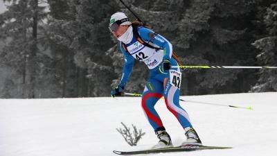 Биатлонистка из Новосибирска взяла бронзу на гонке Кубка России
