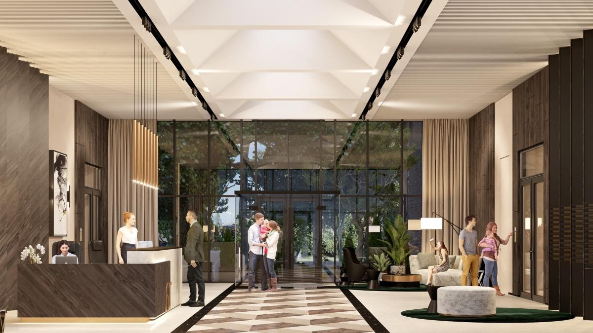 Лаконичный дизайн, панорамные стекла, мебель, текстиль, предметы интерьера в холлах отличают все проекты компании Prinzip