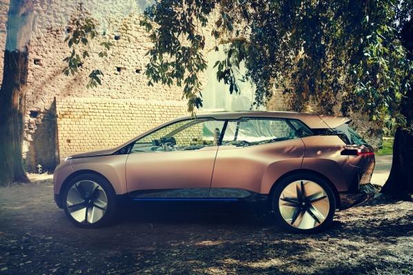 Неоднозначный концепт-кар BMW Vision iNext