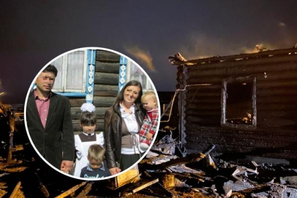 При пожаре в Ярославской области погибли трое детей, родители госпитализированы