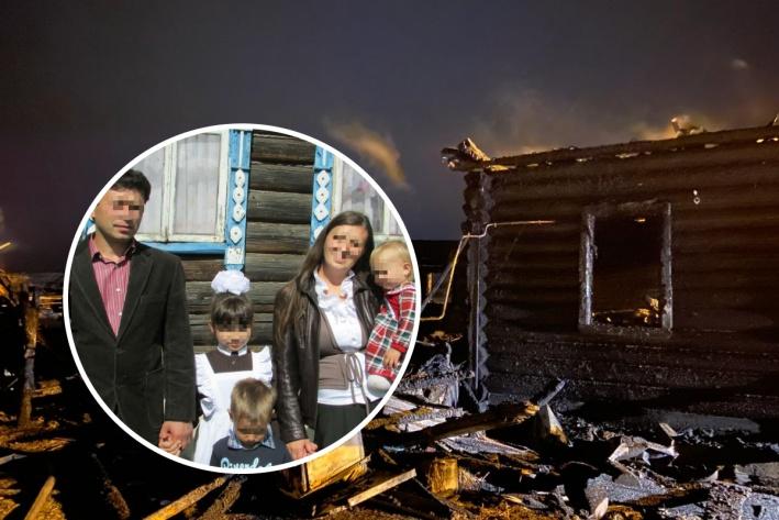При пожаре в Ярославской области погибли трое детей, родители госпитализиров