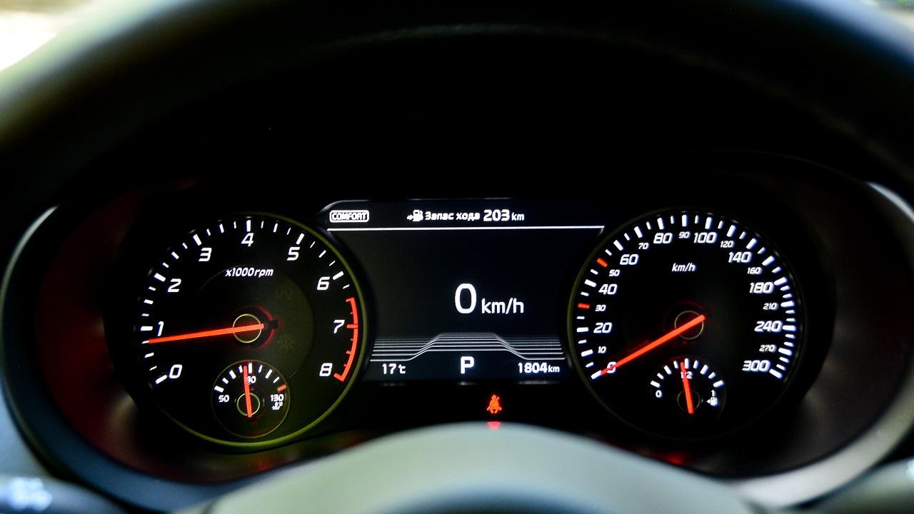 Оценка в 203 км на почти половине бака, к сожалению, подтвердилась: Stinger оказался прожорливым. Обкатка?