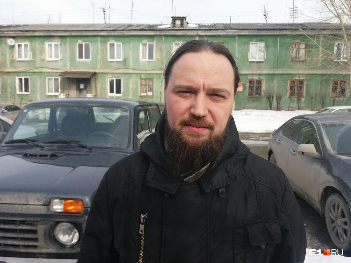 Иерей Антоний Клюкин