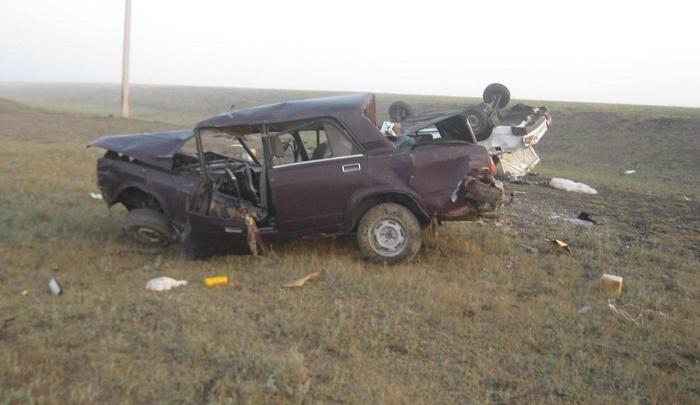 Один человек погиб, трое пострадали: два водителя без прав столнулись в Мокроусовском районе