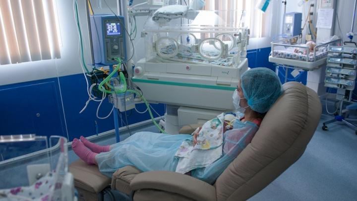 В Башкирии женщина родила малыша в 51 год