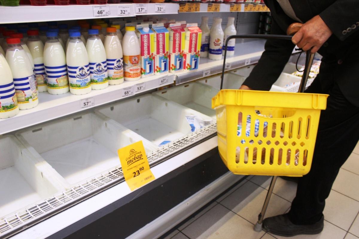 Новосибирцам стало сложнее покупать сливочное масло и хлеб