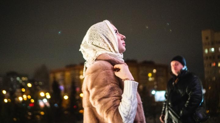 Звонок к началу службы: как омские верующие Рождество встречали
