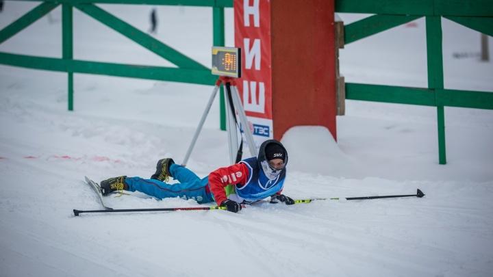 Навострили: в Новосибирске открыли лыжный сезон