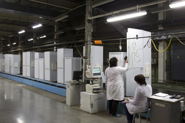 Холодильники в Красноярске производят с 1963 года