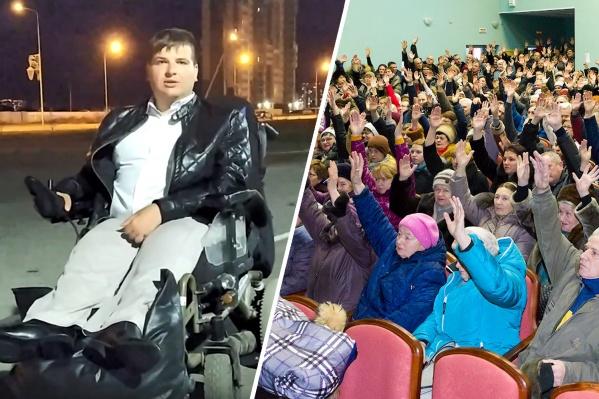 Николай Ольховский уверен, что публичные слушания проводятся в то время, когда прийти могут либо пенсионеры, либо профессиональная массовка