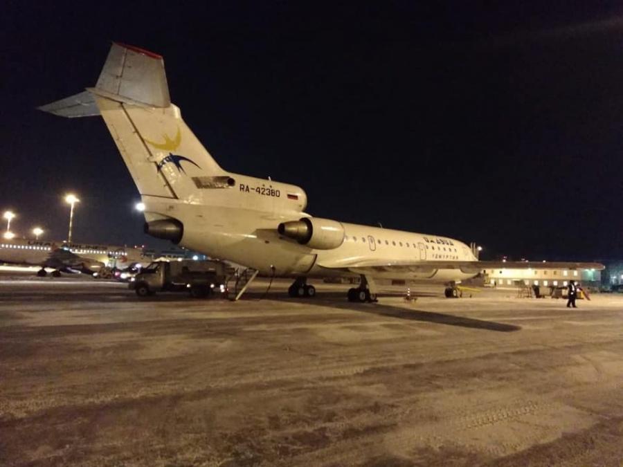 Сколько людей вышло из самолёта в Екатеринбурге, в Кольцово не уточнили. Похоже, дальше полетели все
