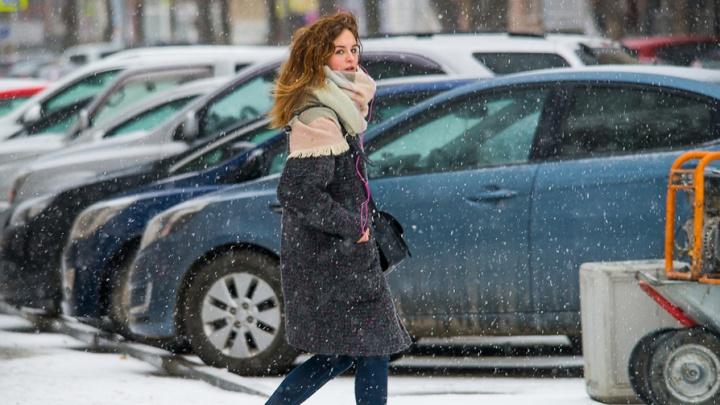 К выходным в Екатеринбурге потеплеет, но будет бушевать сильный ветер