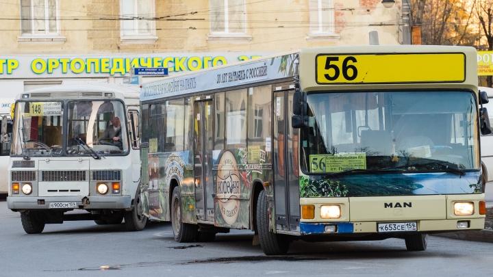 Власти Перми выставили на торги автобусную базу на Нагорном, из которой выселили перевозчиков