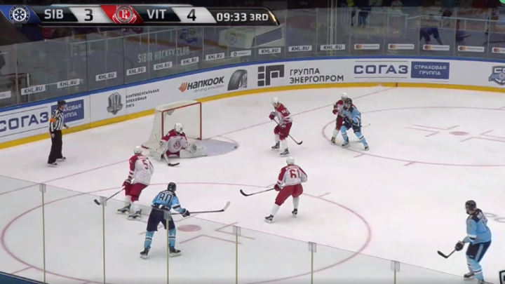 Хоккей: гол на 17-й секунде и ещё четыре шайбы в воротах «Сибири»