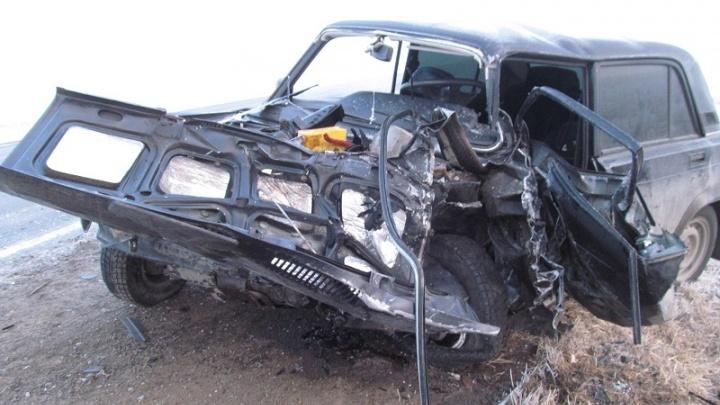Водитель погиб в аварии в Белозерском районе