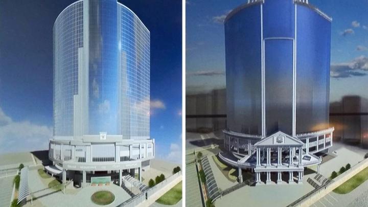 Проектировщики представили на суд Минстроя варианты фасада Шестого кассационного суда