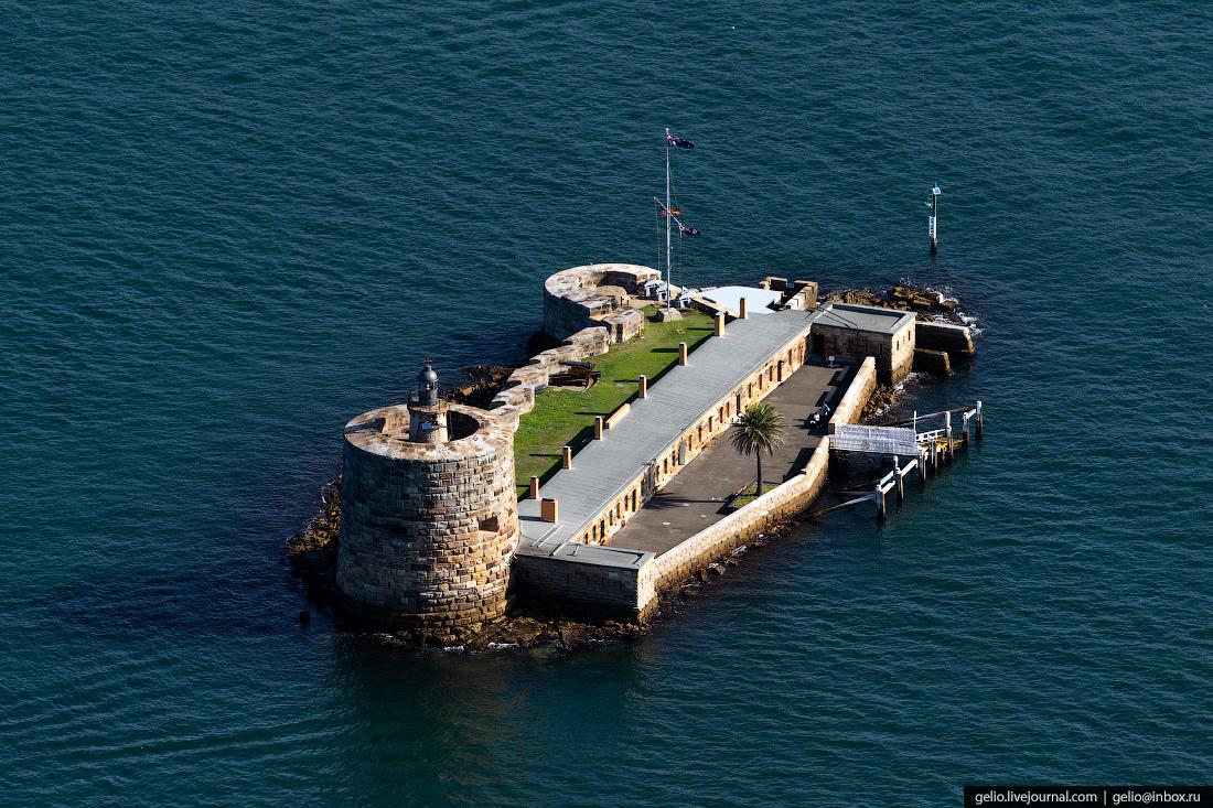 Форт Денисон был построен в 1857 году