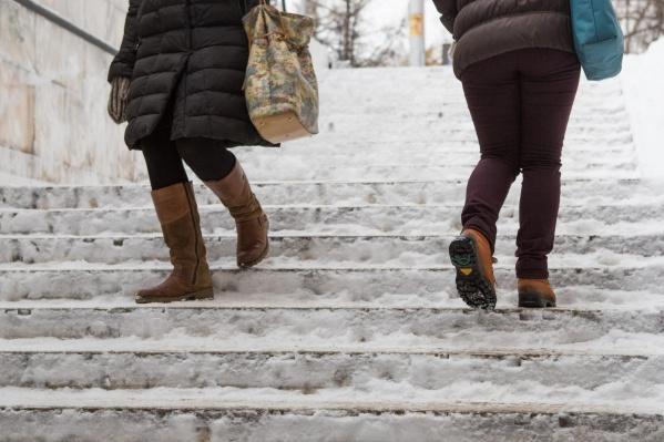 На выходных синоптики ждут гололёд, снег, метели и порывистый ветер