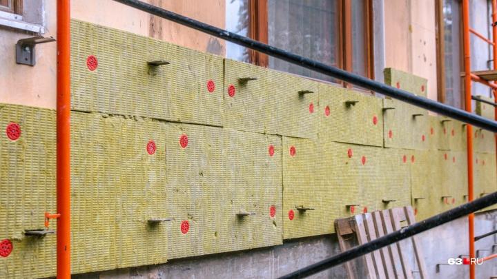 В Самаре рабочие сорвали сроки капитального ремонта шести домов
