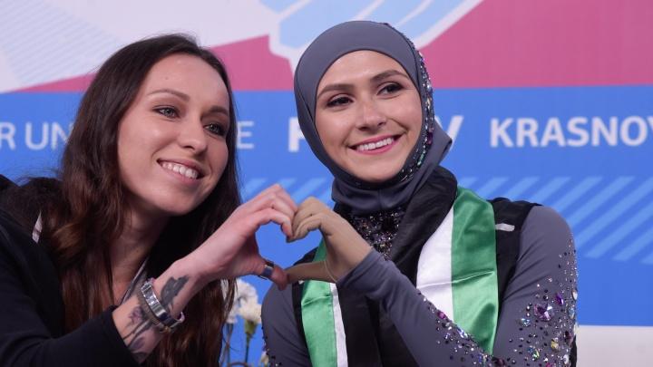 «Сказалось волнение и недостаток условий»: первая в мире фигуристка в хиджабе оказалась на 28 месте