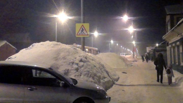 Омичей предупредили о сильном снегопаде