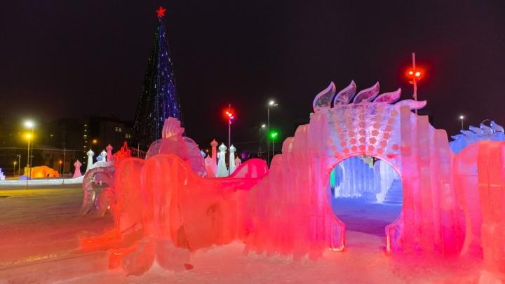 В Перми ледовый городок у Театра-Театраоткроется 30 декабря