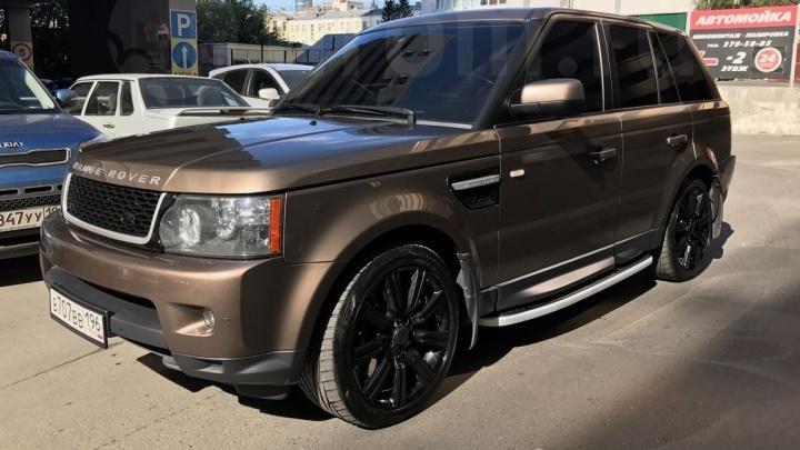 Range Rover, который мог спровоцировать ДТП на Полевском тракте, пытались продать за неделю до аварии