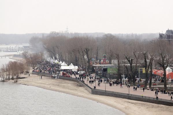 В Левобережном парке можно будет попробовать блюда крымской кухни