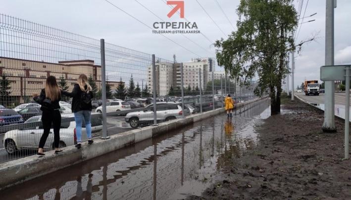 Возле корпуса СФУ на Сопке открывают парковку и калитки в периметре безопасности