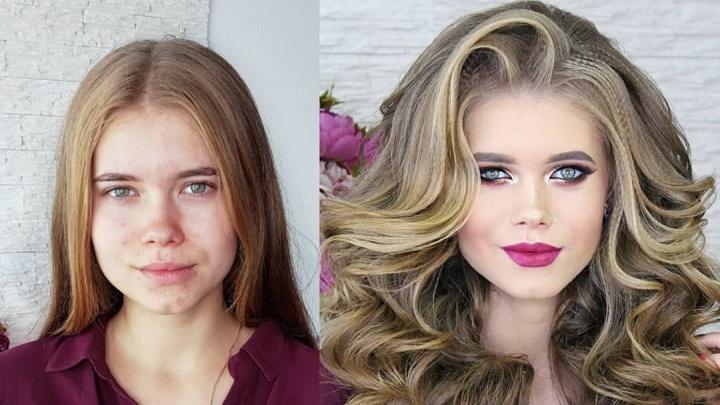 До и после макияжа: 10 образов тюменок, изменившихся до неузнаваемости