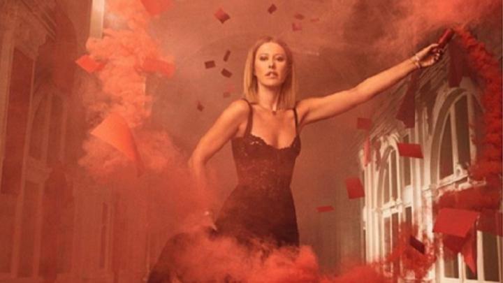 «Нет дыма без меня»: Ксения Собчак показала себя в образе «Родины-матери» Волгограда