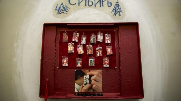 Как в «Ассе»: фотосерьги с тайным фоном показали новосибирцам