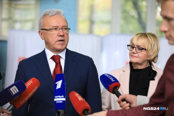 Усс стал губернатором Красноярска в 2018 году