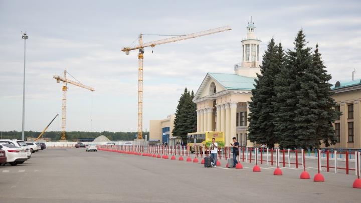 «Заработает в январе 2020-го»: в челябинском аэропорту начали строить новый аэровокзал