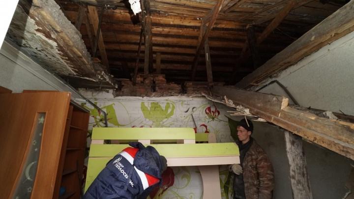 Следственный комитет и прокуратура проверят обстоятельства ЧП с обрушением потолка в Кунгуре