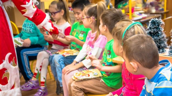 Самарские дети от 2 до 15 лет получат сладкие новогодние подарки от губернатора
